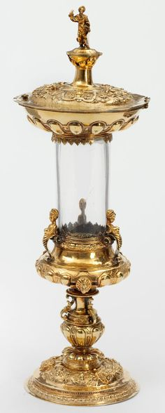 Reliquary, probably by Affabel Partridge, 1551. Lent by the Poor Clare Nuns of Much Birch, Hereford