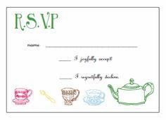 Printable Tea Party Invitations Free Isla Nuevodiario Co