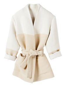 Kimono en coton mélangé ceinturé, Iro, 395 €