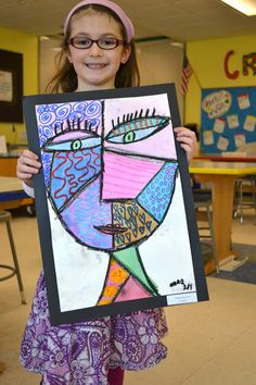 Pics For > Picasso Self Portraits For Kids                              …