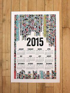 2015 wall calendar13 x 19 posterrude boy by MichelleBrusegaard
