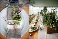 vineyard wedding, purple wedding ideas, green wedding ideas, rustic wedding ideas, herbs, lavender bouquet, personalization, fragrant, Tuscan style, outdoor wedding ideas