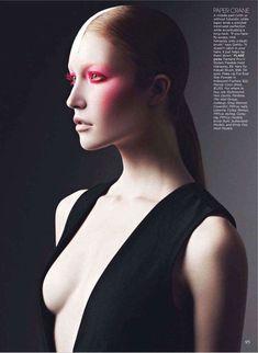 Sci-Fi Geisha Editorials : Flare Magazine 'Japanic Organic'