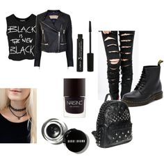"""""""Black is the new Black"""" by beatriz-justo on Polyvore"""