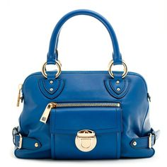 671428a62e89 Kiki - Elise Blue in Marc Jacobs ( 895) ❤ liked on Polyvore featuring bags