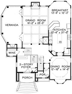 Complete with Master Retreat - floor plan - Main Level Complete package dream home. Perfect home. Dream House Plans, House Floor Plans, My Dream Home, Dream Homes, Architectural Design House Plans, Architecture Design, 2 Story Foyer, Garage Interior, Craftsman House Plans