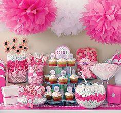 Pink Gray Baby Shower Grandbaby Ideas Pinterest Bumazhnyj
