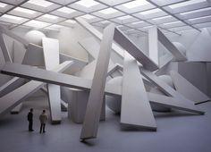 "David DiMichele's ""Construction"" installation"