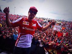 Fernando Alonso in USA 2013