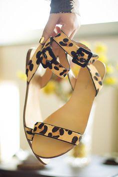 Zara leopard sandals | www.styldrv.com