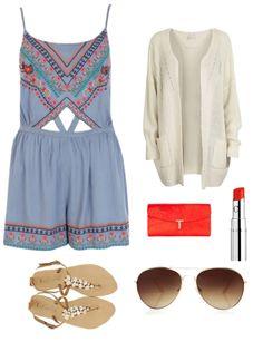 Cute romper outfit