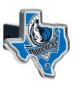 Another great find on #zulily! Dallas Mavericks Texas-Shaped Trailer Hitch Cover #zulilyfinds