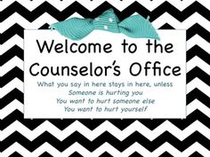 Confidentiality in Counselling