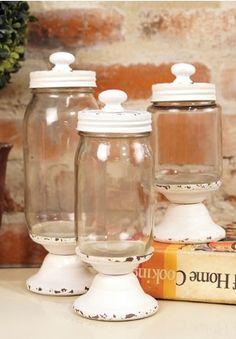 Glass Jars, Kitchen Jars, Kitchen Canisters
