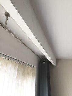 #BeautifulBedLinenIdeas Info: 4914651397 Curtain Pelmet, Ceiling Curtains, Home Curtains, Curtains Living, Ceiling Decor, Curtains With Blinds, Window Cornices, Room Interior, Interior Design Living Room