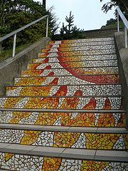 San Francisco - Mosaic Stairs to Grand View Park. From Marc_Smith's photostream on Flickr.