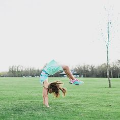 Flip, tumble and handspring your way into the summer season. | ivivva polopark