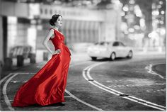 Easy Selective Color Effect With Photoshop