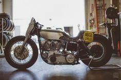 Custom Harley-Davidson Panhead 1952