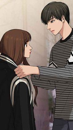 Anime Love Story, Anime Love Couple, Cute Anime Couples, Anime Art Girl, Anime Guys, Ghibli Movies, Webtoon Comics, Love Illustration, Cute Disney Wallpaper