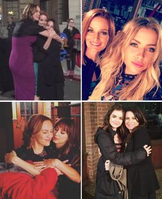 """PLL - """"That's a series wrap on Lesley Fera, Holly Marie Combs & Laura Leighton."""" - """"lucyhale: That's a series wrap on my amazing work mama. You're the coolest @thehmc #pllfinale""""  itsashbenzo; That's a wrap on my beautiful amazing mommy. I love you moms  sleepinthegardn: 7 years ain't enough."""