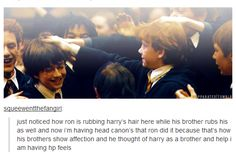 Awwww. I welcome HP feels.