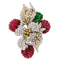 """A whimsical and fun jeweled creation. A past Doyle New York offering."""