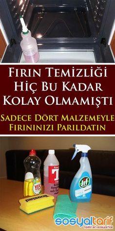 #temizlik #mutfak #pratikbilgiler #fırın Turkish Kitchen, Olay, Home Hacks, Blog Tips, Stock Market, Clean House, Home Remedies, Cleaning Hacks, Feel Good