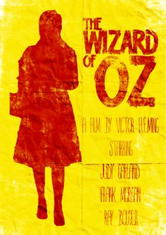 The Wizard of Oz ~ Red and Yellow