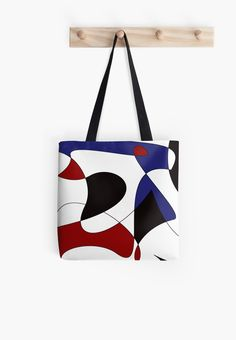 'Dancing lines' Tote Bag von saisart Unique Presents, Unique Gifts, Reusable Tote Bags, Dance, Design, Bags, Dancing, Original Gifts