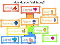 Mr Men Emotions Year 1 Classroom, Classroom Ideas, All About Me Topic, Mr Men Little Miss, Social Thinking, Health Lessons, Eyfs, Teaching Resources, Teaching Ideas