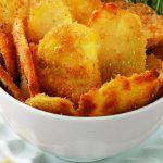 Πατατακια (τσιπς) στο φουρνο για να τα απολαυσετε χωρις ενοχες