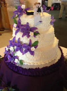 Wedding Cake With Round Layers By Js Pastry Shop In Pensacola