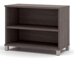 $298 -- 110-OLB594 -- Bestar Office Furniture Two Shelf Bookcase