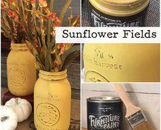 No Prep Furniture Paint ~ Sunflower Fields