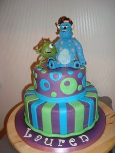 Pin Great Monsters Inc Birthday Cake On Pinterest more at Recipins.com