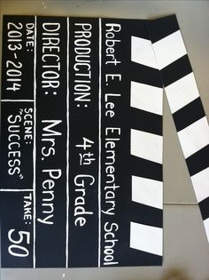 Movie Themed School bulletin board