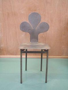 Arne Tengblad; Steel Side Chair, 1950s/60s.