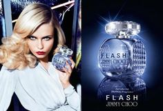 Natasha Poly for Jimmy Choo 'Flash' 2015 Fragrance Campaign