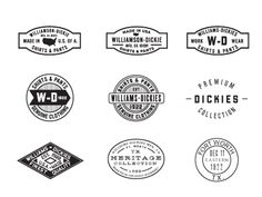 Dribbble - Dickies Marks by Dustin Wallace