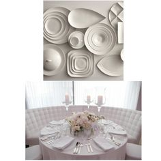 white dinnerware White Dinnerware, Dinnerware Sets, Dinner Sets, Plates, Tableware, Kitchen, Home, Products, Licence Plates