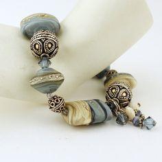 Murano bracciale e orecchini Set argento di StoneDesignsbySheila