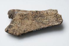 Bone with Viking runes 'We call them Vikings'  -  Museum of Sweden
