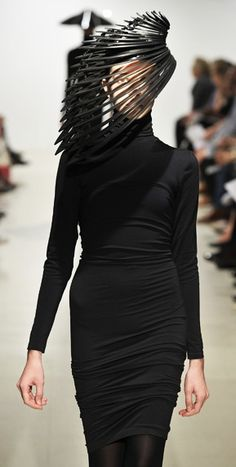 ZARA GORMAN's architectural hats (Freak of...)
