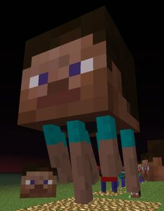 Minecraft NarcisissmCraft Texture Pack: Makes Everything Look Like Steve!
