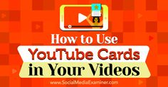 How to Use YouTube Cards in Your Videos http://www.socialmediaexaminer.com/how-to-use-youtube-cards-in-your-videos?utm_source=rss&utm_medium=Friendly Connect&utm_campaign=RSS @smexaminer