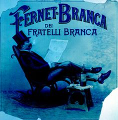Fernet Branca Vintage Advertising Posters, Vintage Advertisements, Ads, Vintage Italian, Retro Vintage, My Back Pages, Italian Posters, Spiritus, Wine And Spirits