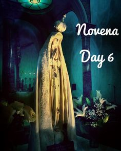 Our Lady of Fátima Novena Day 6 MEDITATION: Mary the children said they had seen a vision of hell. All too many people around the world live in places so desperate that they might be compared to hell. In many places terror strikes daily and innocents die in senseless war. The cycle of violence and revenge is perpetuated with no end in sight. We would do well to remember the relative comfort we are blessed with and realize that many are not so fortunate. Today Mary I pray for an easing of the…