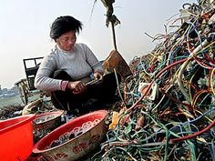 Exporting E-waste