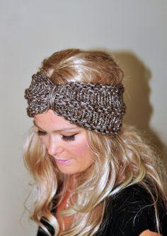 Turban Headband Crochet Ear